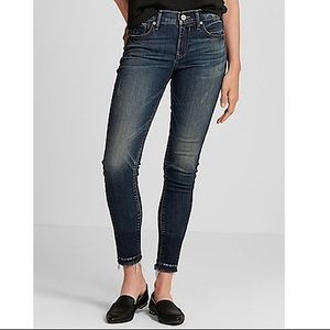 Express Stretch Repreve Ankle Legging Jeans